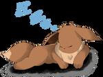 Sleeping Eevee