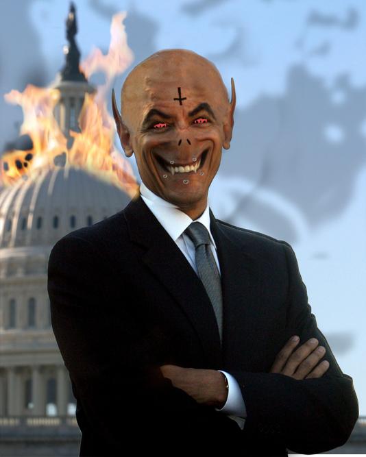 Image result for obama antichrist hitler