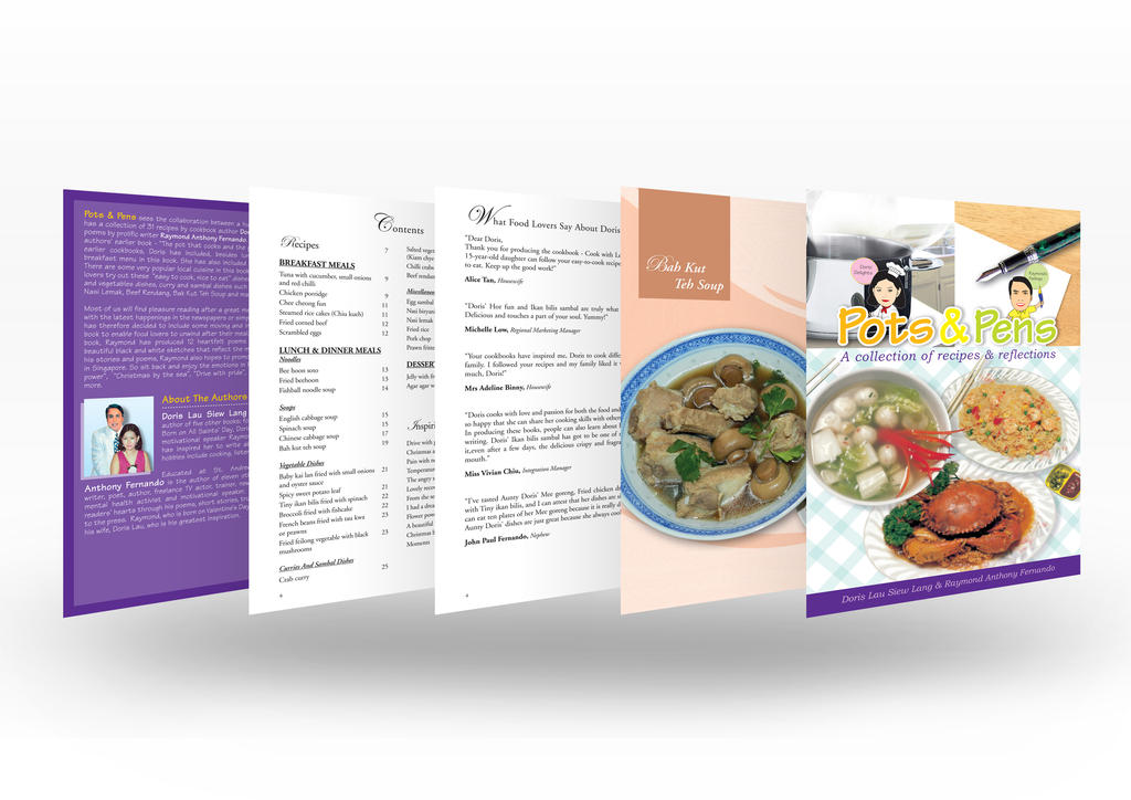 Pen and Pot Cook Book by jrong