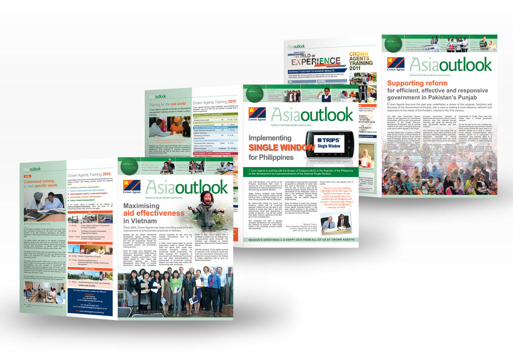 Asia Outlook Newsletter by jrong