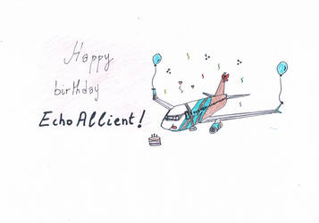 [Gift] EchoAllient's birthday by walid2687