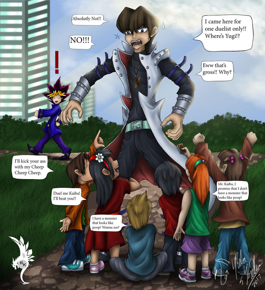 Freakin-Children by Dragon-venom