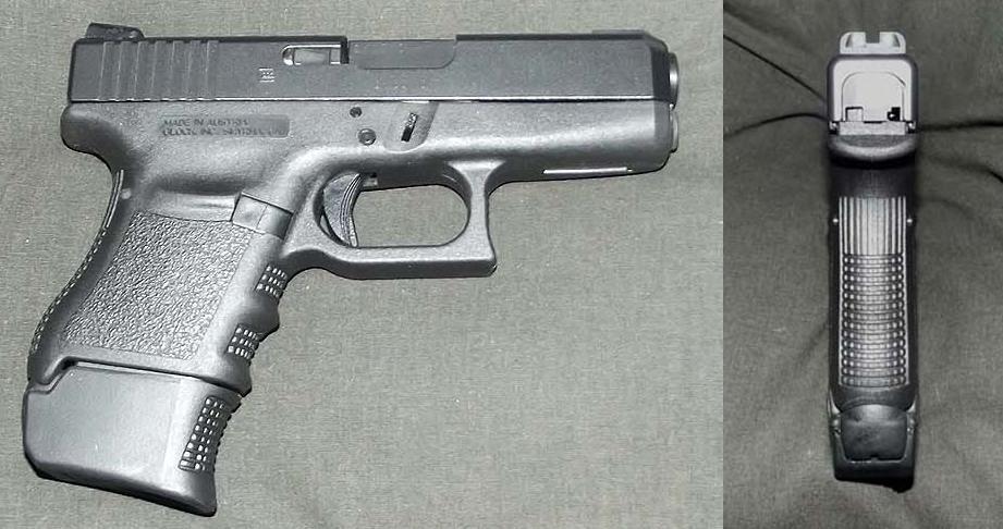 'Stubs' My Glock 36 by HectorDefendi-Light