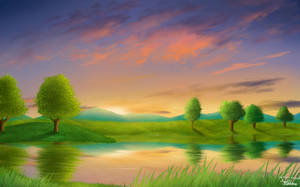 Picturesque Sunset by Artistic-Ana