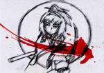 Samurai 7 - Katsushiro Sketch
