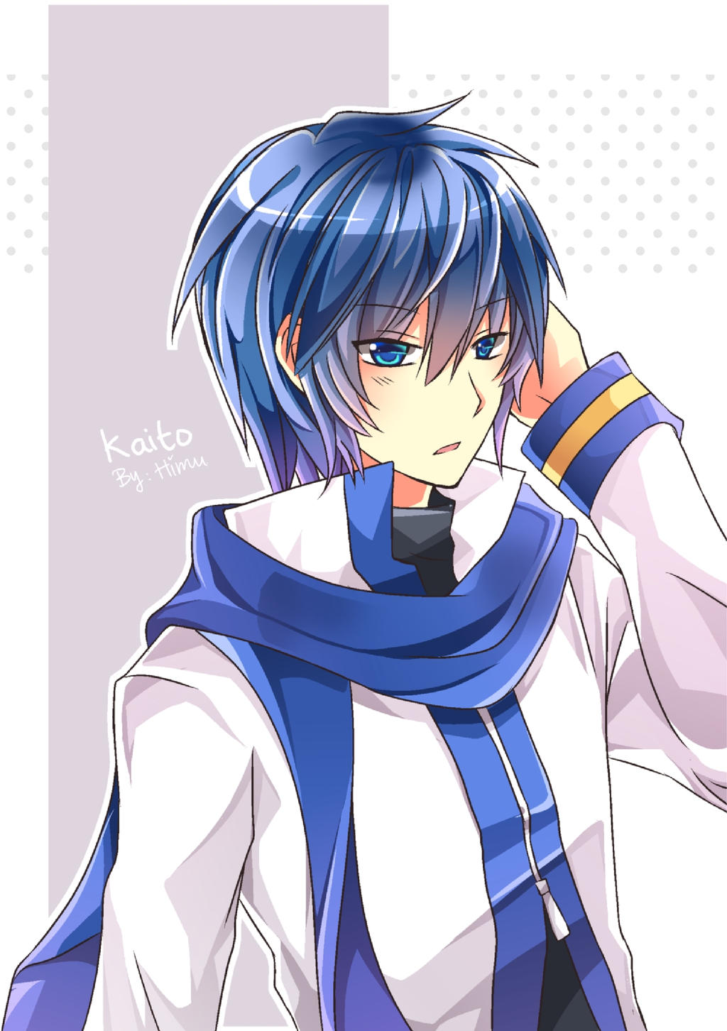 Fa Kaito Vocaloid By Himu Himu On Deviantart