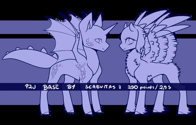 [P2U] Pony Base 1 (UNAVAILABLE) by Scaevitas