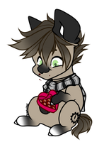 Discount chocolate is the only thing i have by Scaevitas