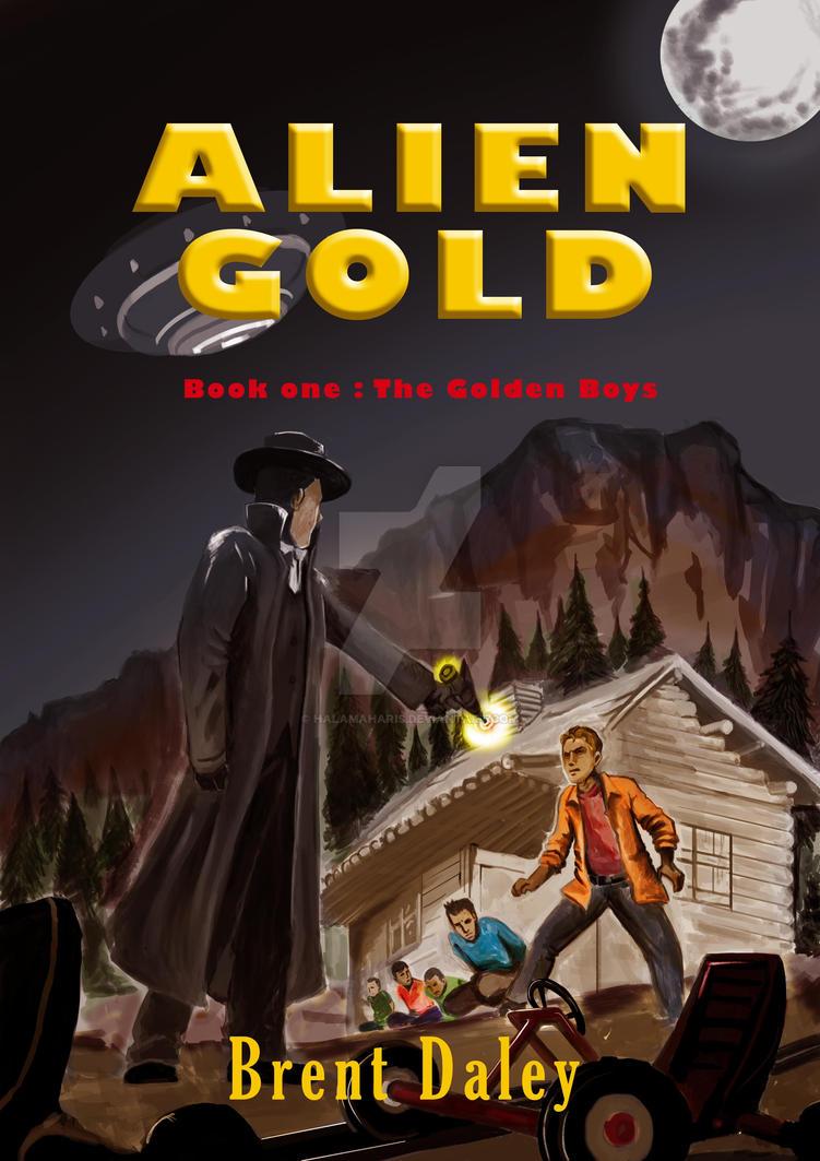 Novel Alien Gold by HalamaHaris