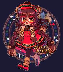 [Adopt|Closed] Scarlet Scholar