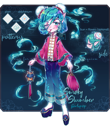 [Outfit] Smoky Slumber