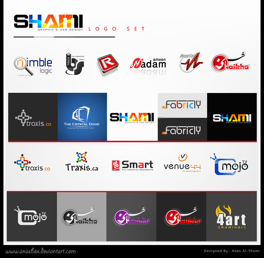 Logo Set by anasbox