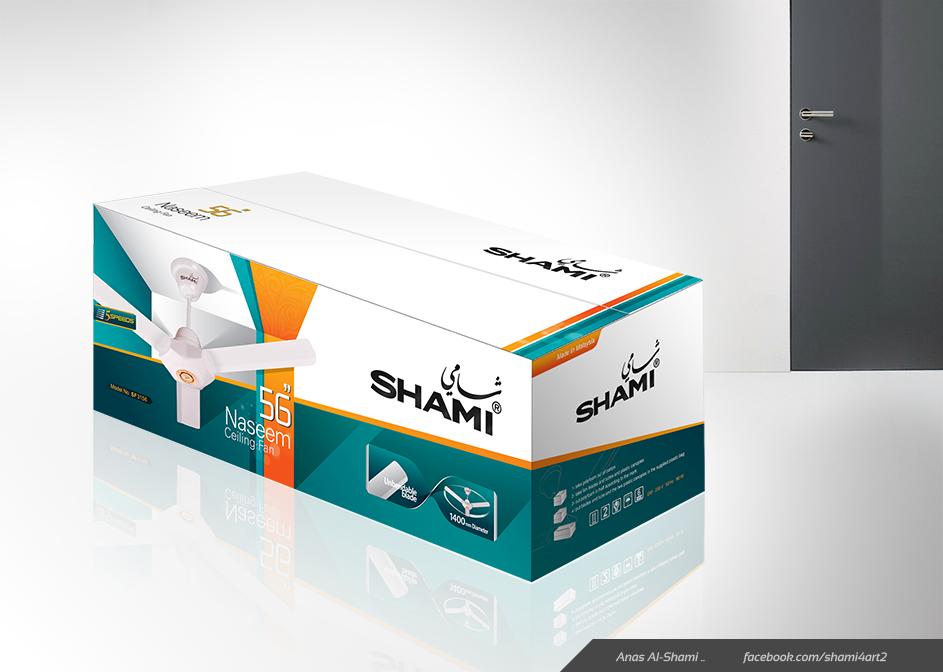 Naseem Ceiling Fan Packaging by anasbox