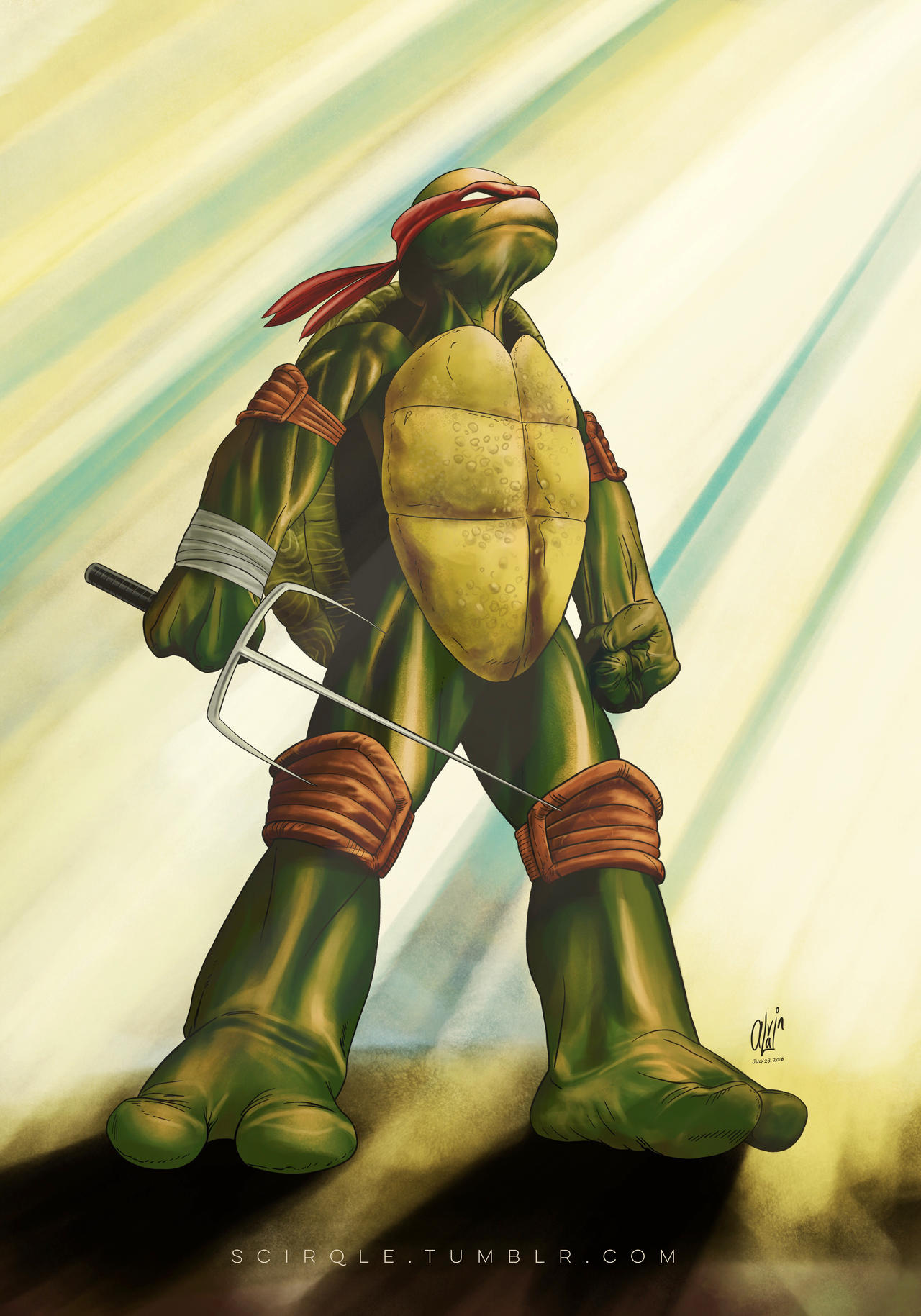 TMNT - Raphael by alvi...