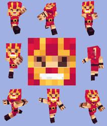 Minecraft JunkBoy skin by Volconas