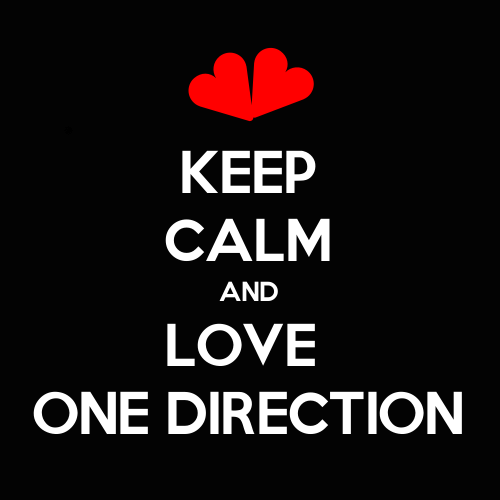 Keep Calm And Love One Direction By Shadowhunter26