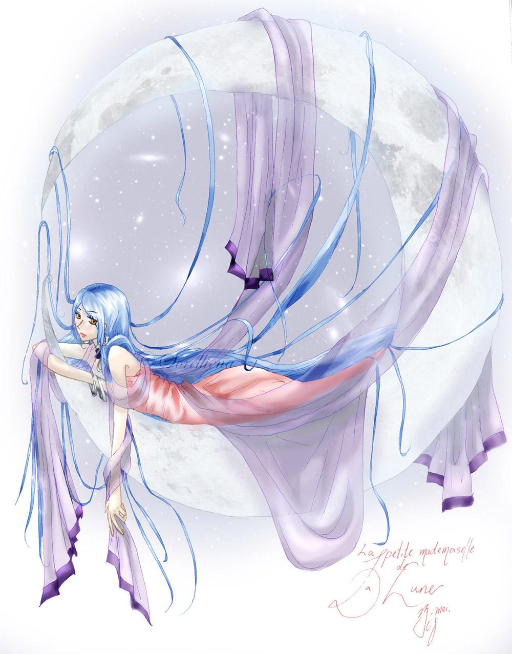 Mademoiselle de La Lune by Sorelliena