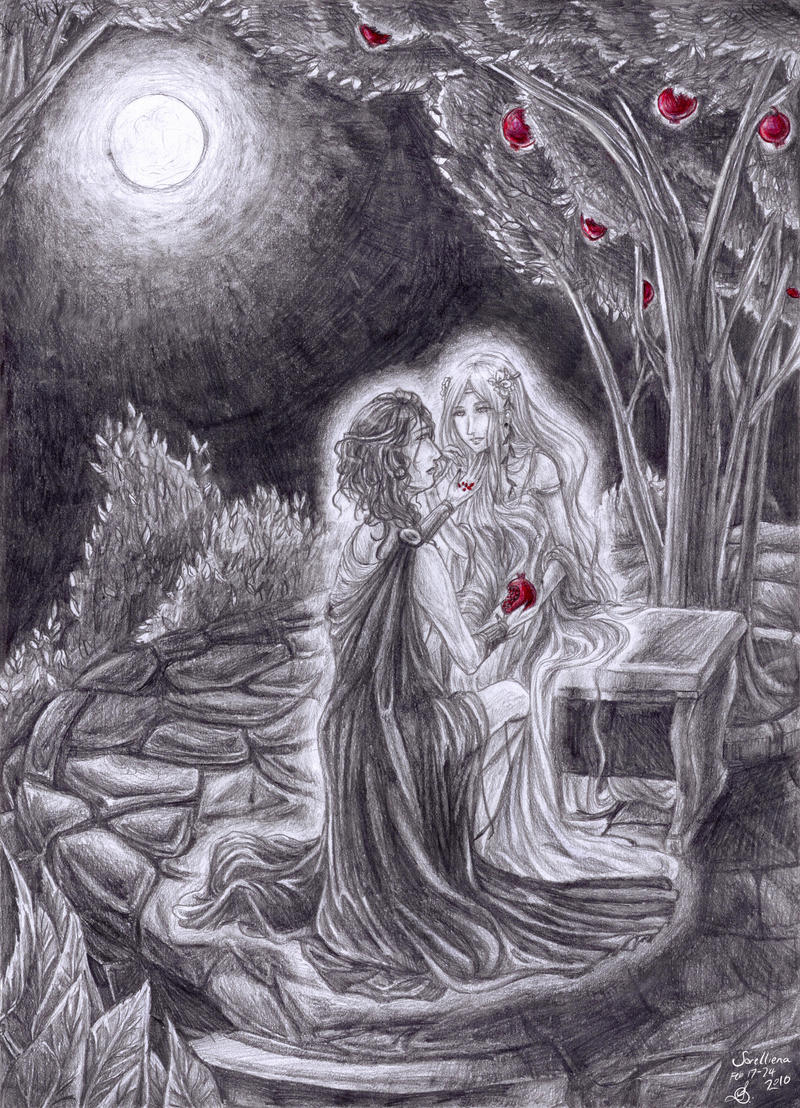 Hades and Persephone by Sorelliena on DeviantArt