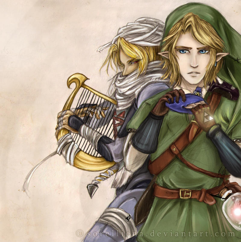 LoZ : Duet of the Heroes by Sorelliena
