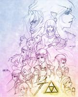 Zelda Compilation (Sketch)