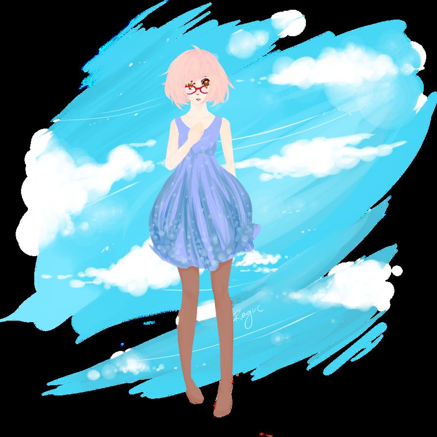 Sky Flouf by roguebloodangel