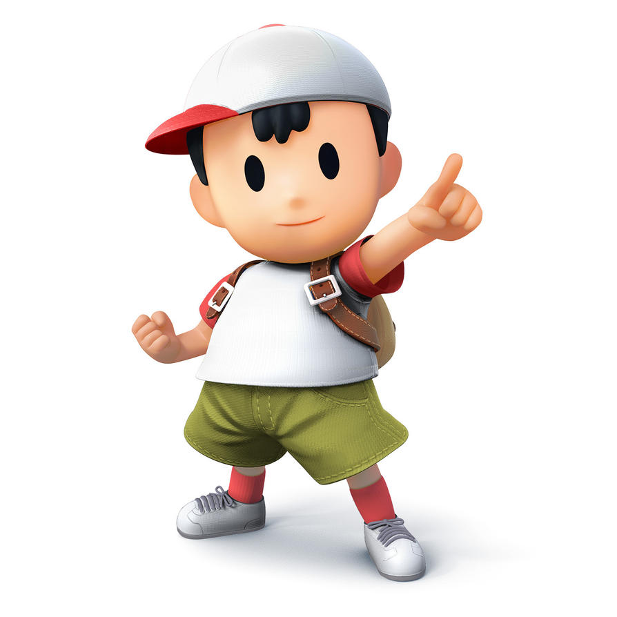Ness SSB4 Costume 2 by spyu98