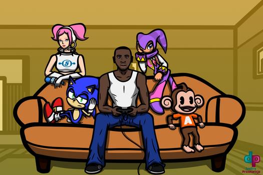Sega heroes and CJ