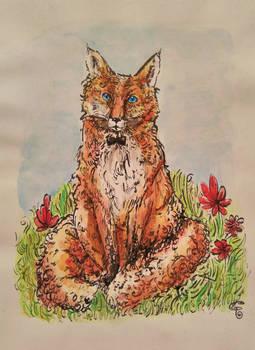 Bonjour, dit le renard