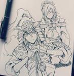 Young Kouen and Koumei