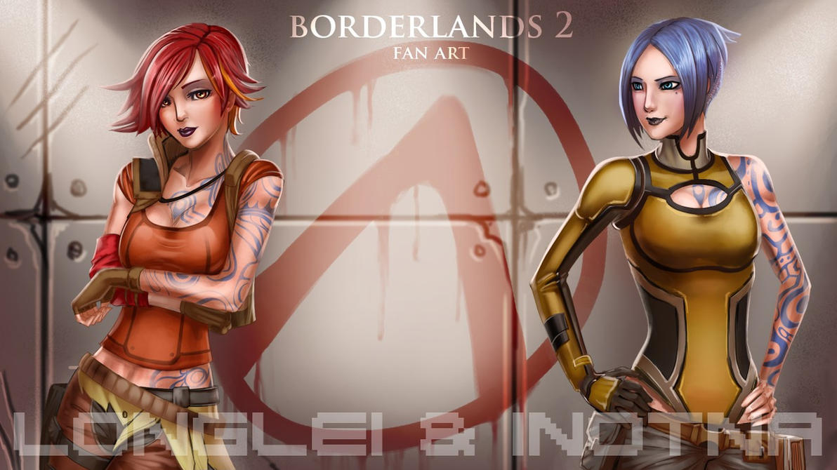 Borderlands 2 fan art by inotna