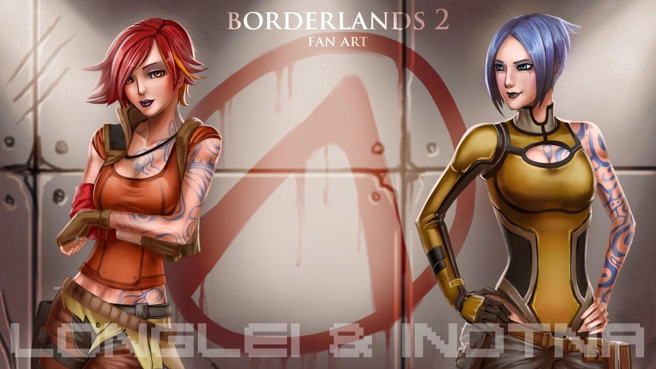 Borderlands 2 fan art by inotna