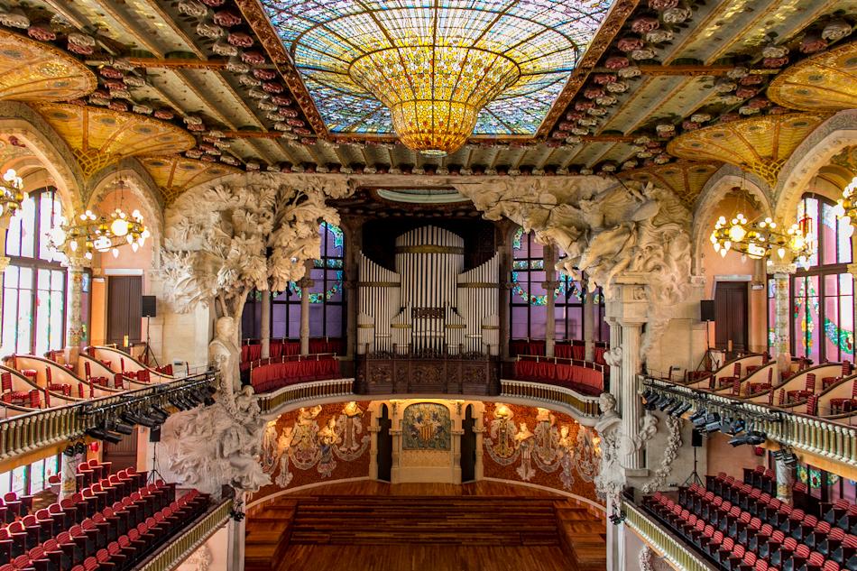 Palau de la Musica Catalana by f-i-g-m-e-n-t