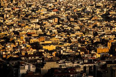 Barcelona Sundown by f-i-g-m-e-n-t