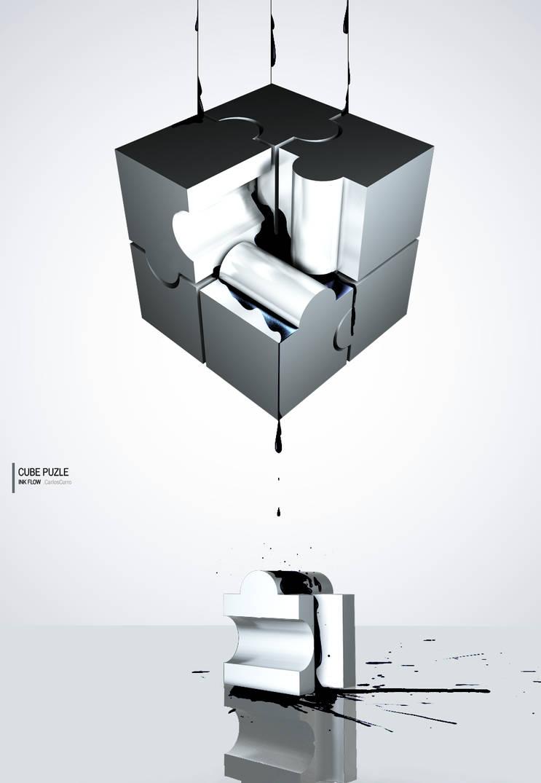 Cube puzle