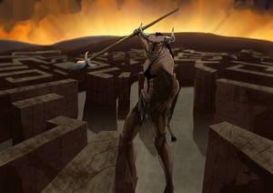 The labyrinth of the Minotaur