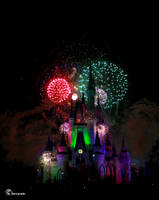 Disney Fireworks by Dugwin