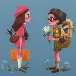 Sam and Suzy by karlyjade