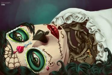 Dia De Los Muertos by macabre7