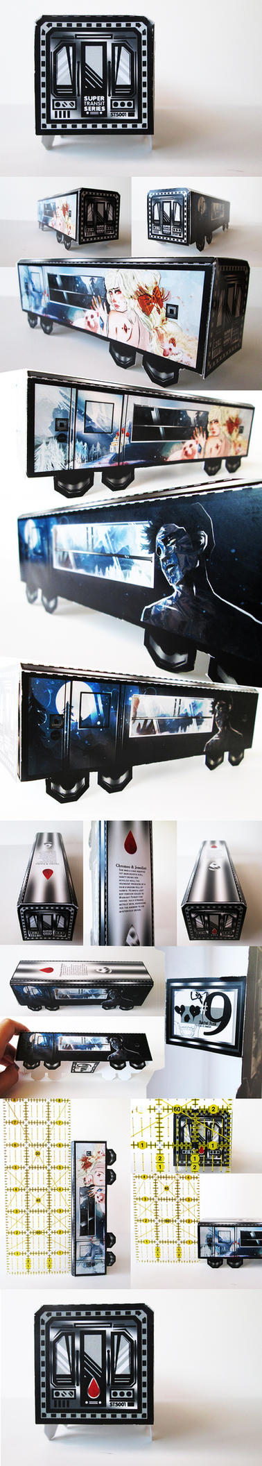 Super Transit Series  - Chromeo + Jeweliet Cart by macabre7