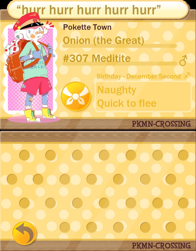 PKMNC - Application *new* - Onion by cherifish