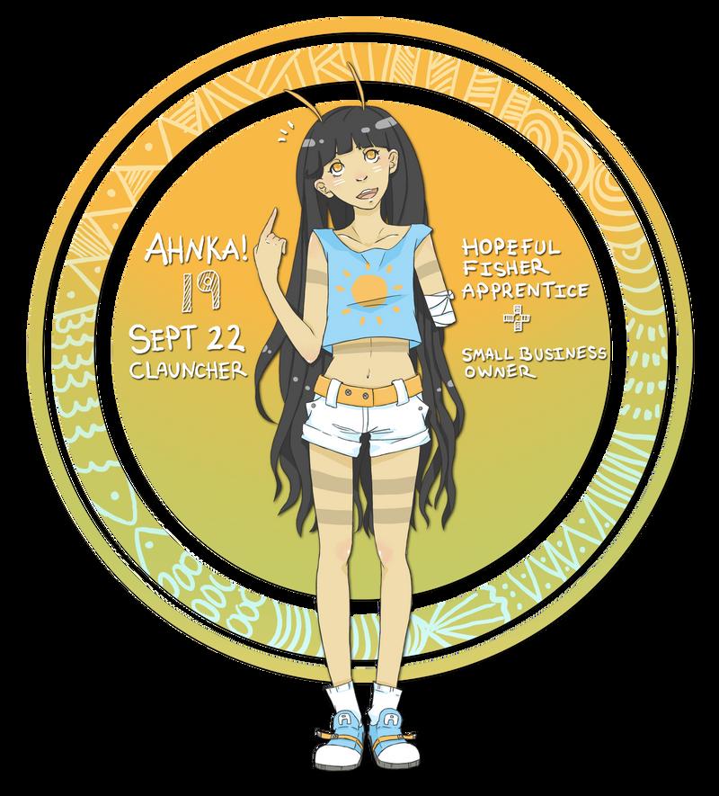 HPM - Second Character - Ahnka by cherifish