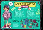 Meet the artist thingo