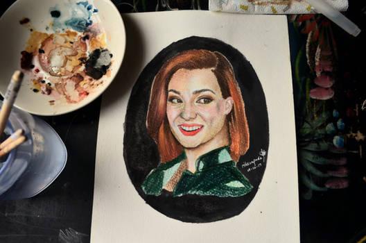 Drawing Katherine Barrell   Mixed Media