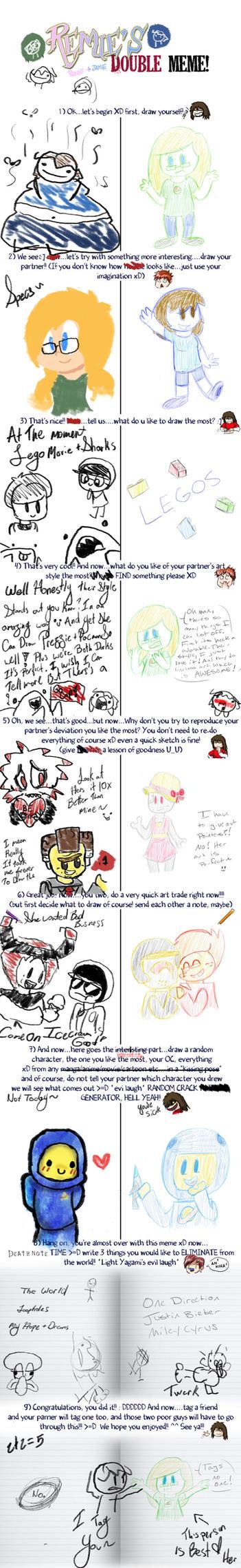 Double Friend Meme with Captain-Specs! by kakashicoke