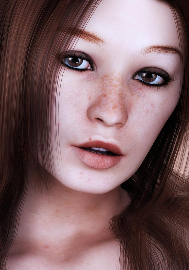lynn close up by SaphireNishi