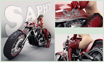 bike by SaphireNishi