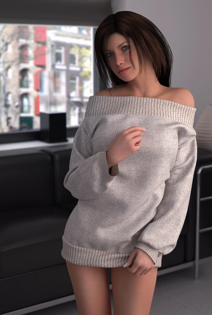long sleeved shirt 02 by SaphireNishi