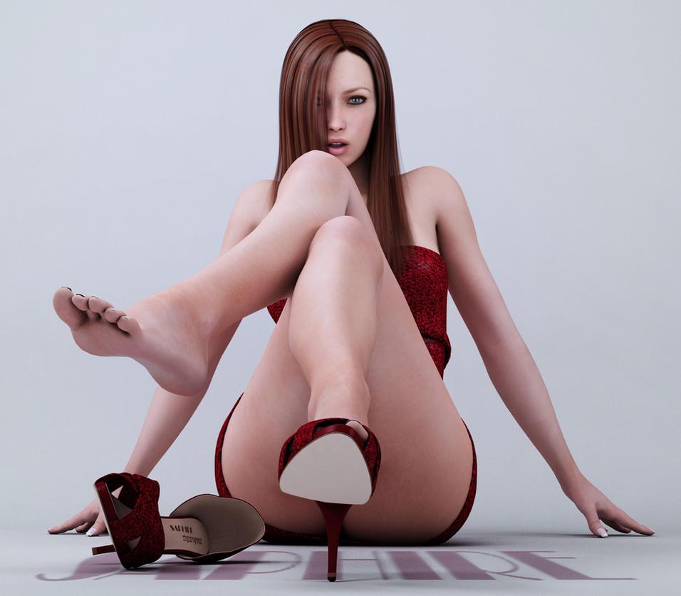 3d female model nude skins nackt video