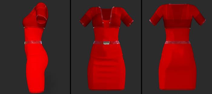 bolero dress - (g8f) (daz)