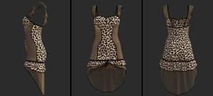 short halter dress (g8f) (daz)